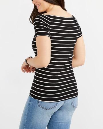 Striped Ballerina Top