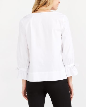 Adjustable ¾ Sleeve Blouse