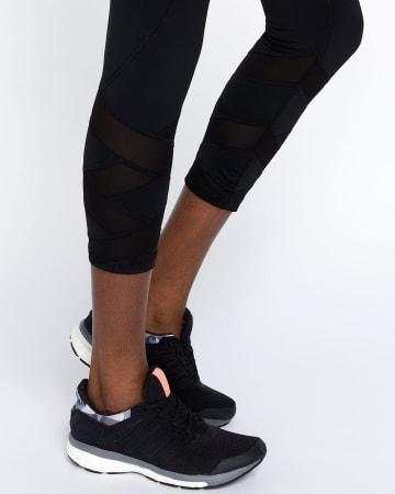 Hyba Mesh Cropped Legging