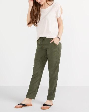 Pantalon à taille élastique