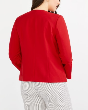 Bell Sleeve Open Blazer