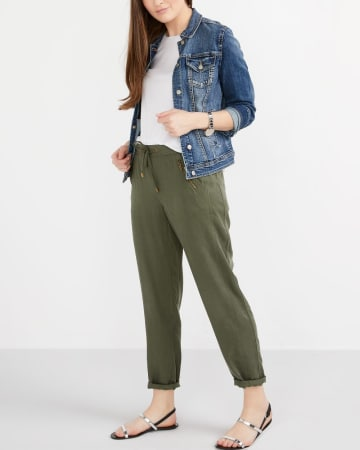 Tall Pull-On Straight Leg Pants