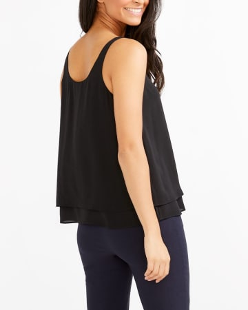 R Essentials Two-Tier Cami