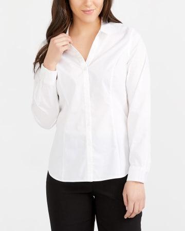 R Essentials Structured Shirt