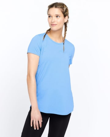 T-shirt avec mailles Hyba