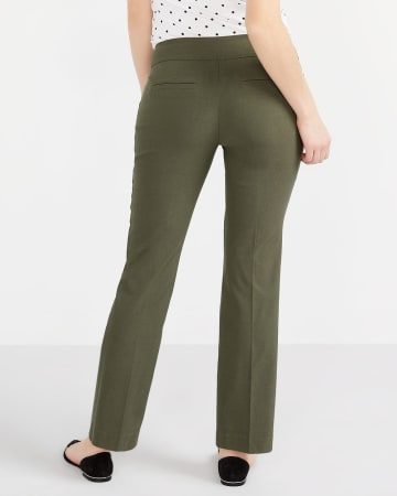 The Petite Iconic Boot Cut Pants