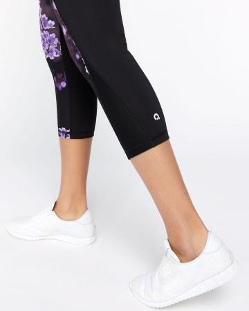 Hyba Printed Cropped Legging