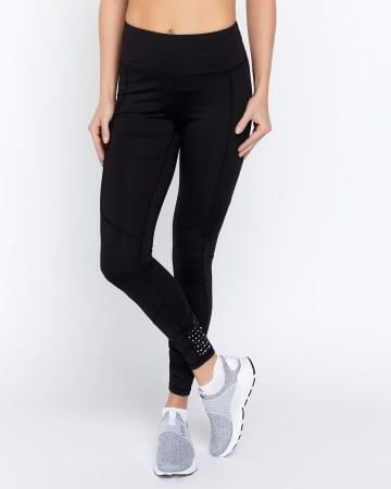 Hyba Running Legging with Reflective Detailing