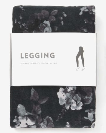 Legging à imprimé floral