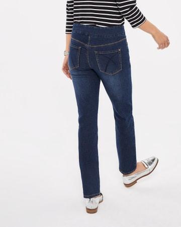 Jeans à jambe droite L'Authentique Confort Petite