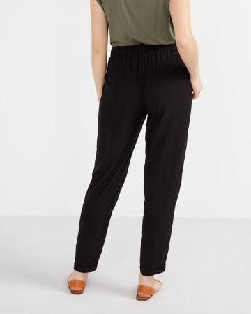 Pantalon fuseau avec ceinture souple