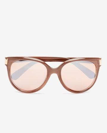 Beige Sunglasses