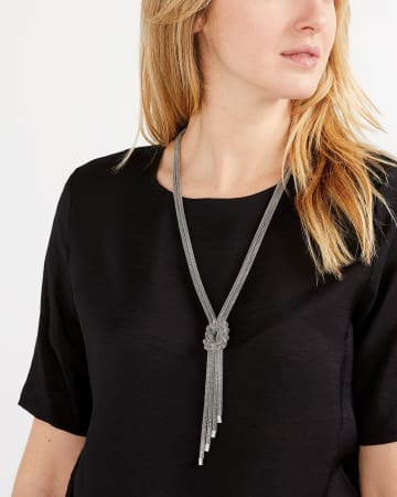 Twisted Mesh Necklace