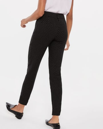 The Iconic Skinny Jacquard Ankle Pants