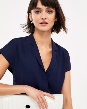 Willow & Thread Solid Shirt Dress