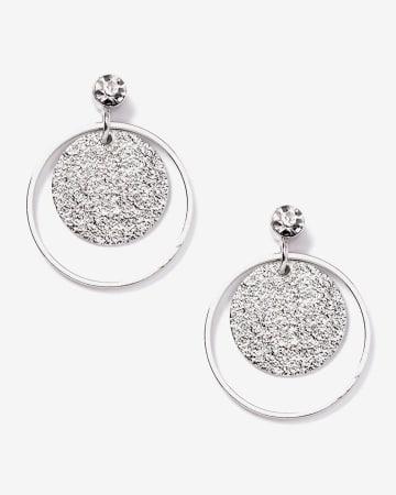 Circle Drop Earrings