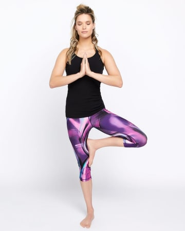 Legging capri Supersonique imprimé Hyba