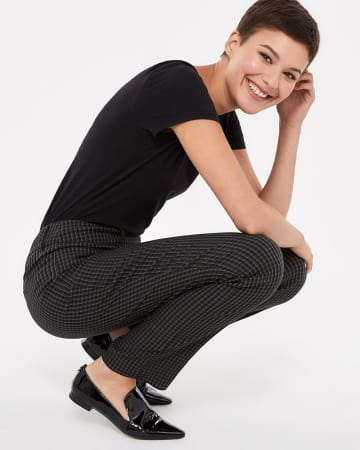 The Iconic Straight Leg Pattern Pants