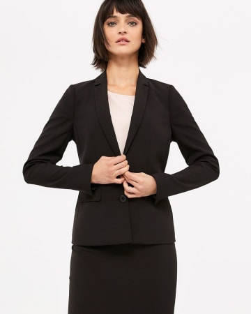 Willow & Thread Washable Solid Blazer