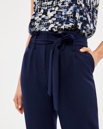 Willow & Thread Paper Bag Waist Pants
