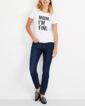 T-shirt à imprimé graphique