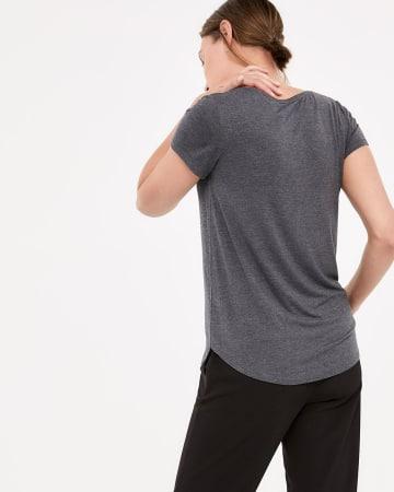 T-shirt incontournable à col en V R Essentials