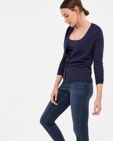 R Essentials Long Sleeve Cardigan