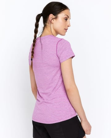 T-shirt essentiel rayé Hyba