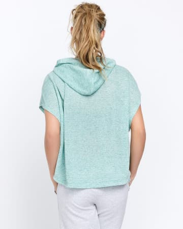 Hyba Knit Hooded Sweater