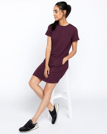 Hyba Knit Dress with Welt Pocket