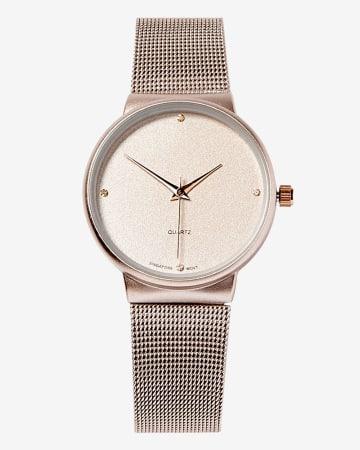 Mesh Wristwatch