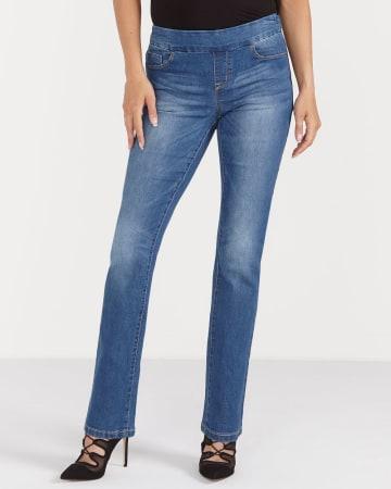 Jeans à jambe droite L'Authentique Confort Petites