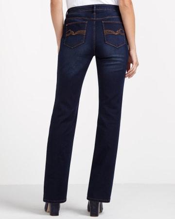 The Ultra Petite Signature Soft Boot Cut Jeans