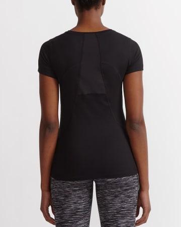 T-shirt plissé à séchage rapide Hyba