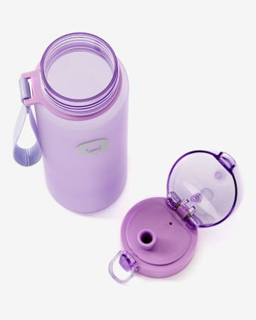 Bouteille d'eau avec bouton-poussoir Hyba