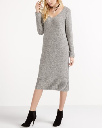 Midi Sweater Dress