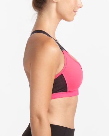 Hyba Zip Medium-Support Sports Bra