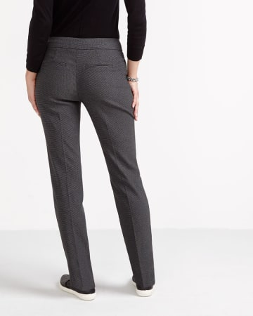 The Petite Iconic Printed Straight Leg Pants
