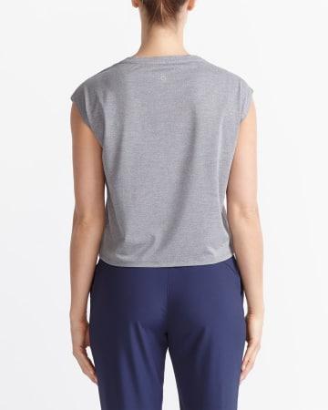 Hyba Cropped Pocket T-Shirt