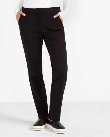 Petite Zip Pocket Skinny Pants