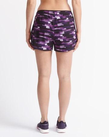 Hyba Printed Running Shorts