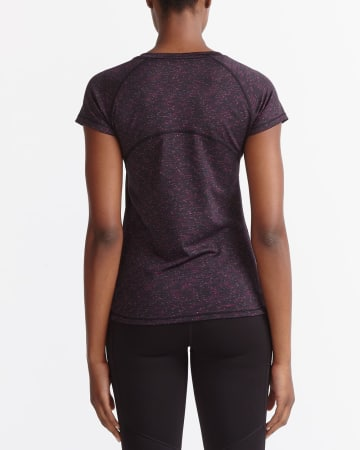 T-shirt d'entraînement chiné Hyba