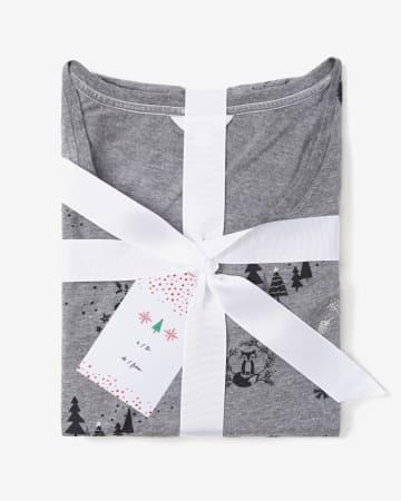 Printed Knit Nighty