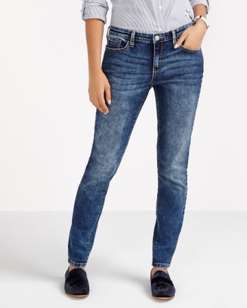 Washed-Out Skinny Jeans