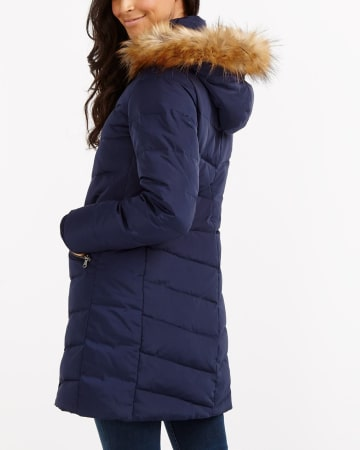 Removable Hood Down Winter Coat