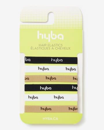 Set of 6 Hyba Hair Elastics