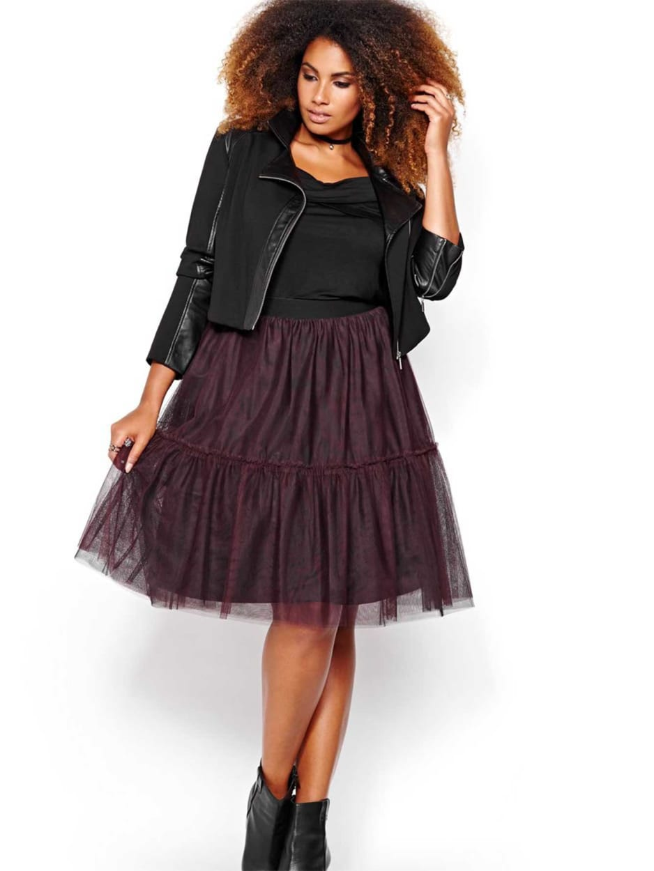 Michel Studio Tulle Skirt