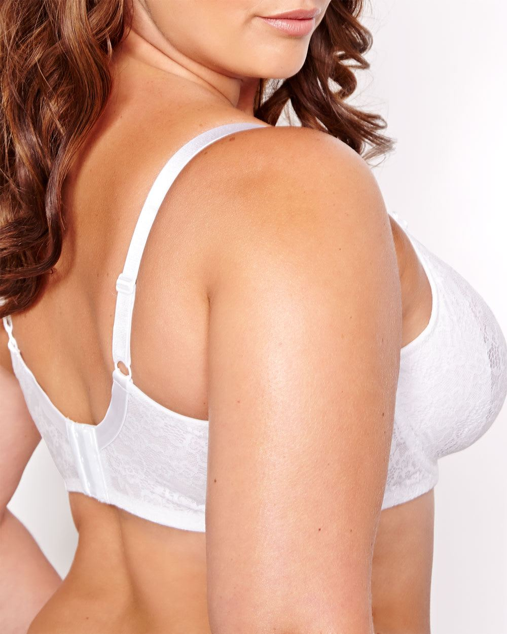 Lace Desire Bra with Molded Cups - Déesse Collection