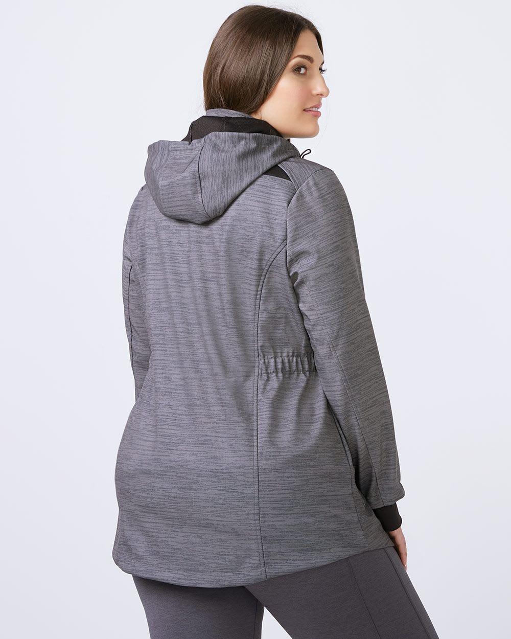 ActiveZone - Plus Size Soft Shell Jacket
