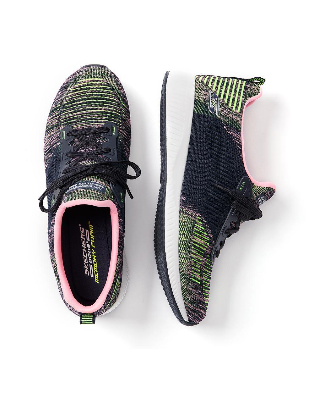 Multi-Colour Wide-Width Sneakers - Skechers